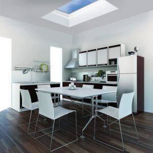 Kitchen with Mardome Dome Rooflights