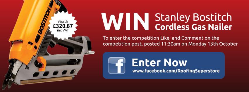 Win a Bostitch Nail Gun on Facebok