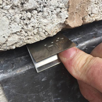 Hallclip+: replace lead wedges with lead flashing fixing exclusive to Roofing Superstore