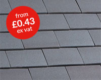 Marley clay plain Hawkins roof tile – Staffordshire blue