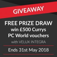 £500 Currys PC World voucher giveaway