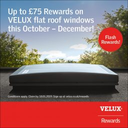 VELUX rewards - flat roof windows