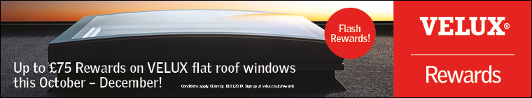 VELUX rewards - flat roof windows
