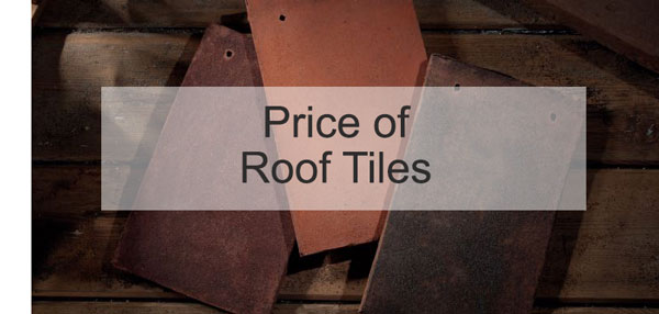 Price of Roof Tiles | Roofing Superstore®