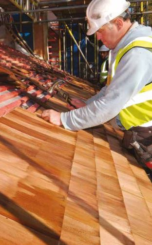 How To Install Cedar Shingles On A Pitched Roof Roofing