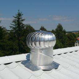 How to install a Lomanco vent turbine