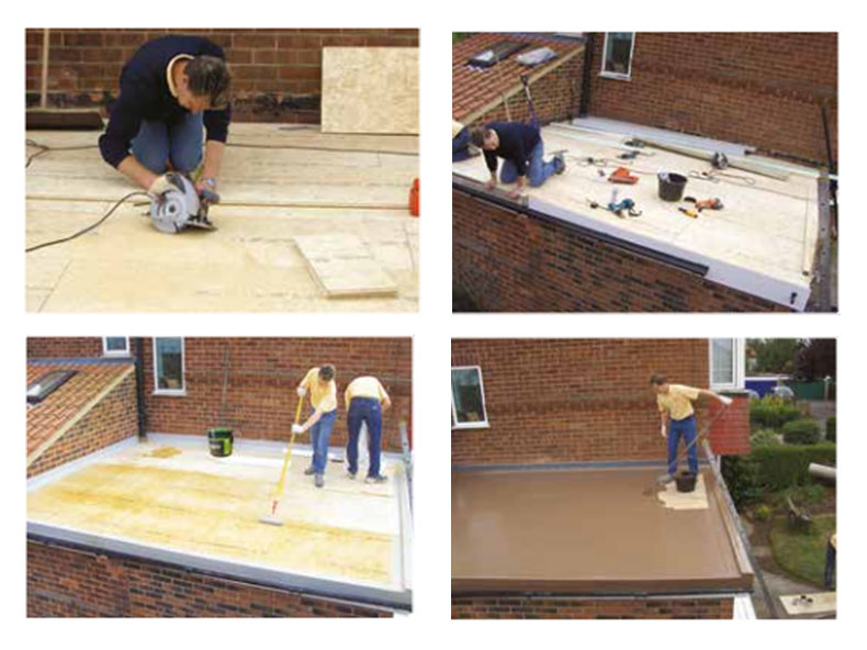 GRP or EPDM - which flat roofing material is best? - Roofing