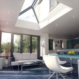 Roof lanterns size guide