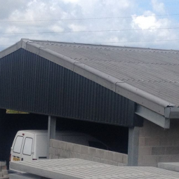 How to fit fibre cement roof sheets