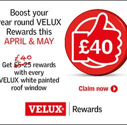 VELUX Rewards this April & May 2019