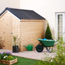 How do I waterproof my shed walls?