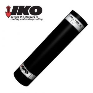 IKO torch on felt roofing