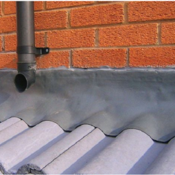 Lead flashing from Roofing Superstore on a house