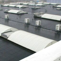EPDM roof made using products from Roofing Superstore