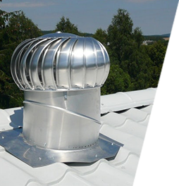 Lomanco vent turbines
