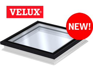 The new VELUX flat glass rooflight