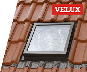 VELUX® Sun Tunnels – Flexible sun tunnels for pitched roofs
