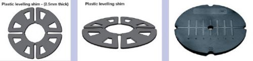 Wallbarn Flat Roof Shims For Pave Support Pads ~ 1mm