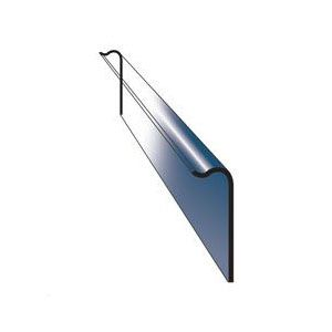 Danelaw GRP Universal Abutment Cover Flashing 150mm x 45mm x 3000mm