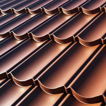 decra elegance satin finish metal lightweight roof tile terracotta roofing superstore. Black Bedroom Furniture Sets. Home Design Ideas