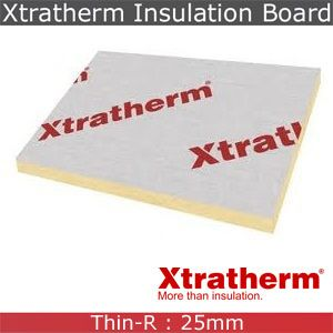 Xtratherm Pitched Roof Insulation Board 2400mm x 1200mm x 25mm