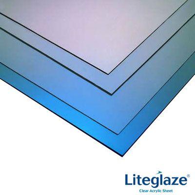 Liteglaze Uv Protected Clear Acrylic Glazing Sheet 2400mm