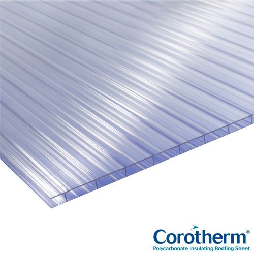 Corotherm 10mm Clear Twinwall...