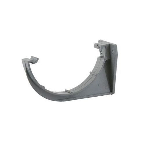 112mm Roundstyle Guttering Fascia Bracket - Grey