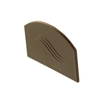 Additional Glazing Bar End Cap - Brown