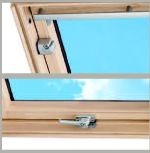 velux ggl p10 3041q window 94x160 centre pivot secured by design pine roofing superstore. Black Bedroom Furniture Sets. Home Design Ideas