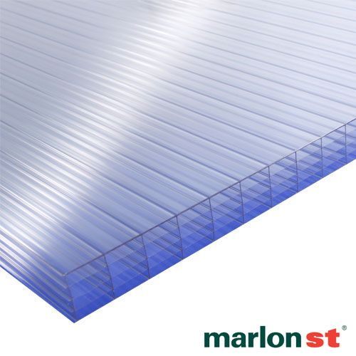 Marlon 25mm Clear Multiwall Polycarbonate Sheet 2500mm X