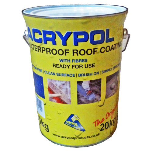 Acrypol Standard (With No Fibres) 20kg Drum - Grey