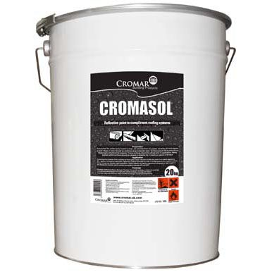 Cromasol High Performance Reflective Paint White - 20 Litre Drum