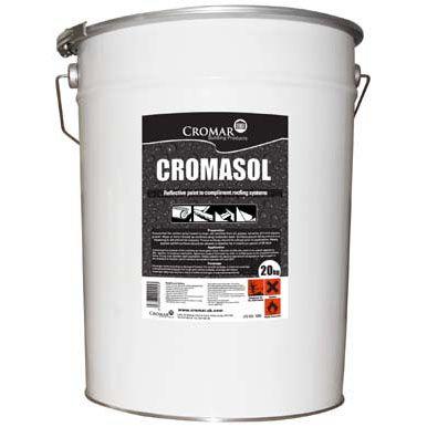 Cromasol High Performance Reflective Paint White - 20 Litre Drum