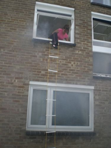 Down And Out Fire Escape Ladder 21 Feet 2nd Floor