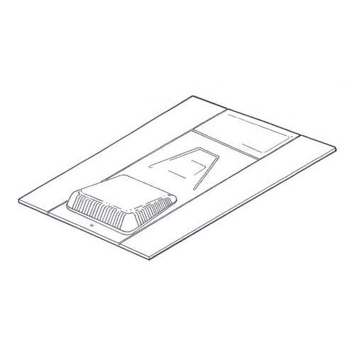 manthorpe refurbishment slate vent 600mm x 450mm  box of