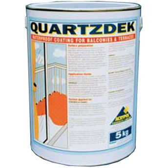 Acrypol Quartzdek Balcony Coating Resin - 5kg Transparent