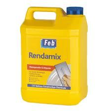 Feb Rendamix Water Resistant Mortar Plasticiser - 5 Litres