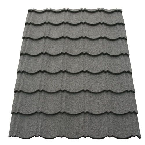 Corotile Lightweight Metal Roofing Sheet Charcoal
