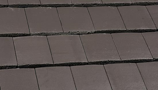 Marley Ashmore Interlocking Duo Plain Roof Tile Smooth