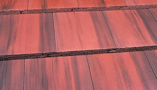Marley Duo Modern Roof Tile Old English Dark Red