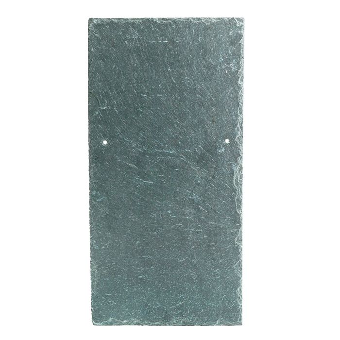 400mm x 300mm Piveri Lugo 1st Quality Natural Slate - Grey / Green
