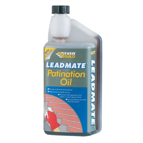 Everbuild Lead Mate Patination Oil - 1 Litre