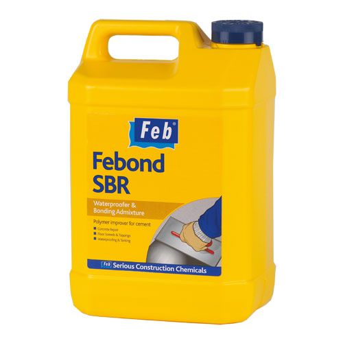 Febond Sbr Bonding Amp Waterproofing Agent 5 Litres