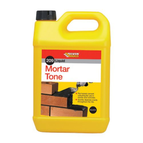 Everbuild Liquid Cement Dye / Mortar Tone Black - 1 Ltr