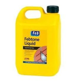 Everbuild Febtone Liquid Mortar Tone/Dye - Brown  (2.5 Litres)