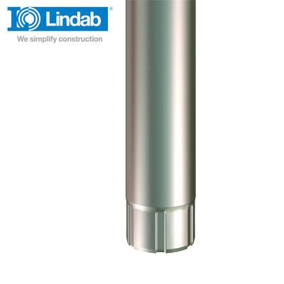 Lindab Steel Guttering Round Downpipe...