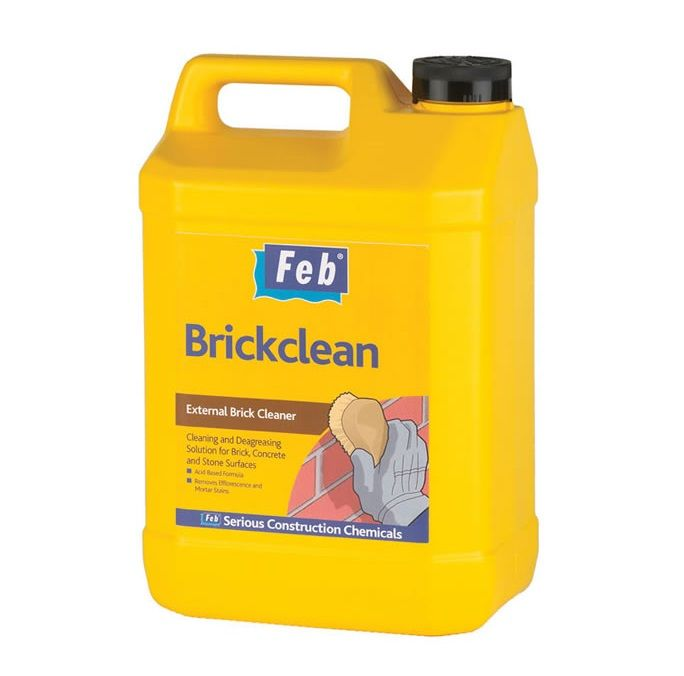 Feb Brickclean External Brick Cleaner  - 5 Litres