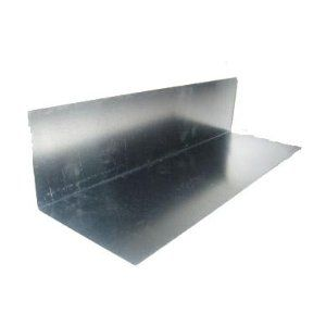 350mm x 150mm Zinc Soakers 10 Gauge-Bent 75mm x 75mm
