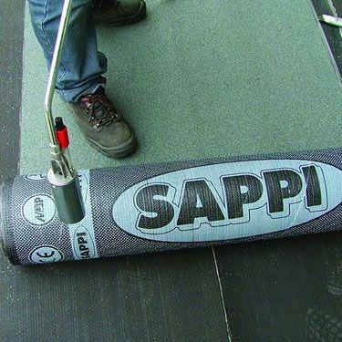 Sappi App Polyester Green Mineral 8m X 1m Torch On Felt